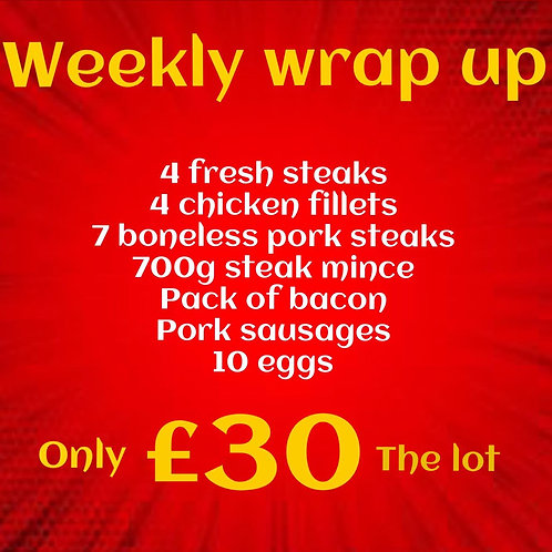 £30 Weekly Wrap Up