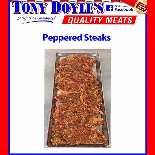 Flavored Beef Steaks