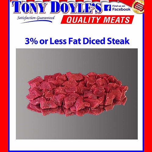 Diced Steak