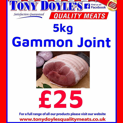 5kg Gammon Joint