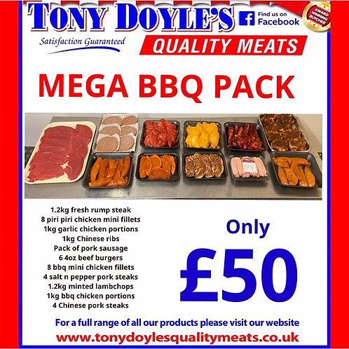 £50 MEGA BBQ PACK