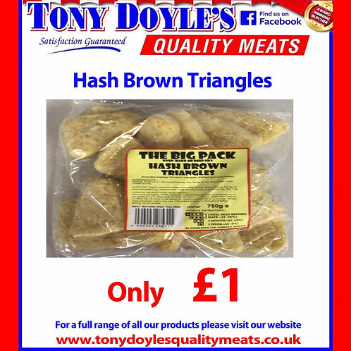 Hash Brown Triangles