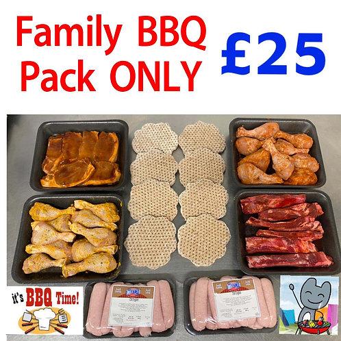 Family BBQ Pack