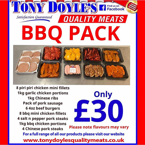 £30 BBQ Pack