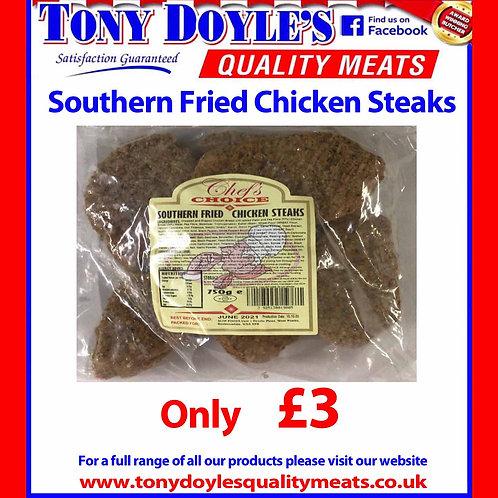 Southern Fried Chicken Steaks