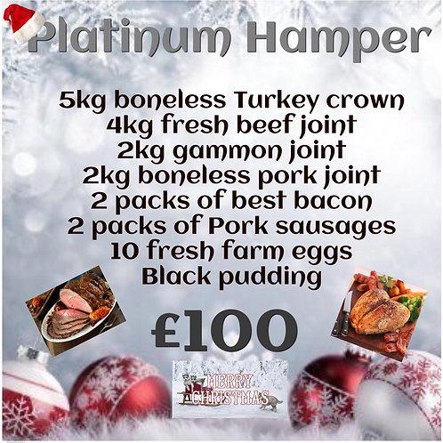 £100 Platinum Hamper