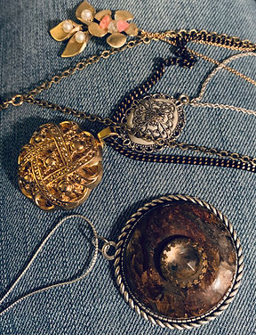 Vintage made necklaces