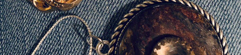 Vintage & Antique Button jewelry
