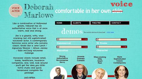 Deborah Marlowe | Voice Actor