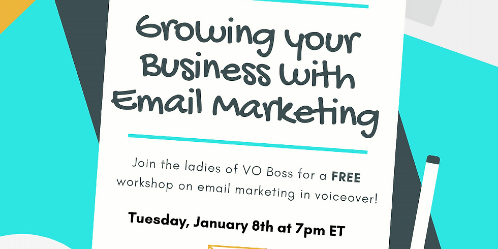Email Marketing for Voicover