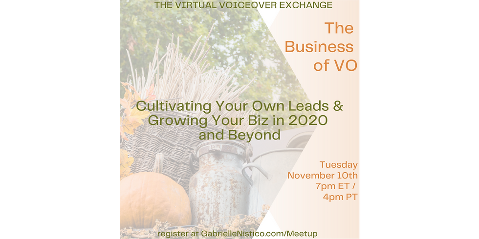 Cultivate Your Leads & Grow Your Biz