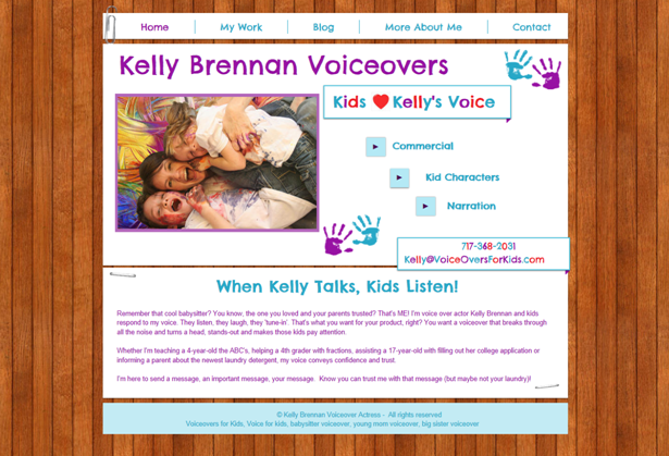 Kelly Brennan | Voiceovers