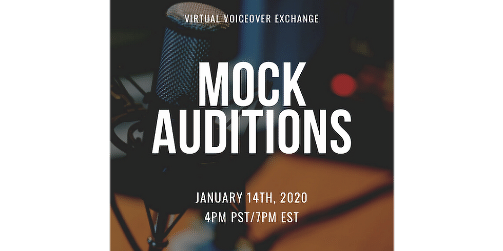 Mock Auditions!