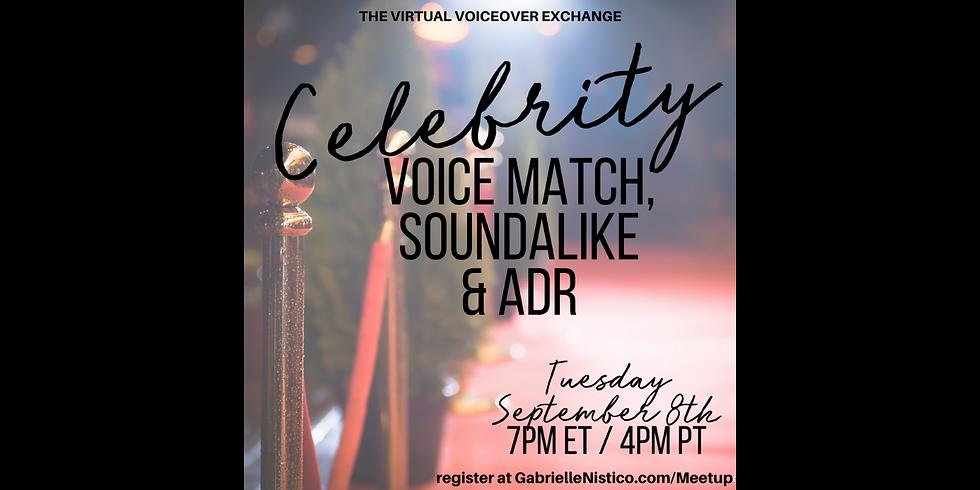 Celebrity Voice Match!