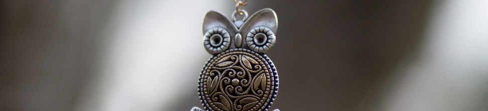 Vintage Button pendant