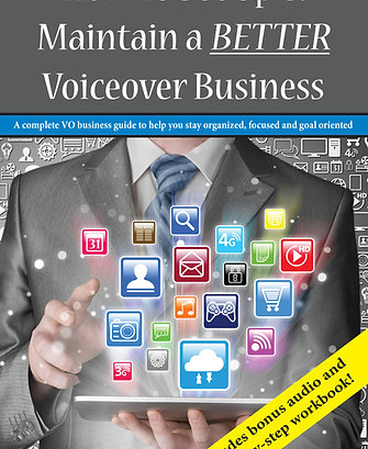Book: Set Up & Maintain A BETTER Voiceover Business