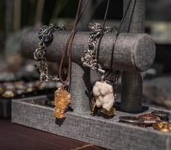 Gem stone necklaces