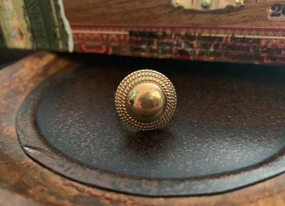 Gold Mirror Ring