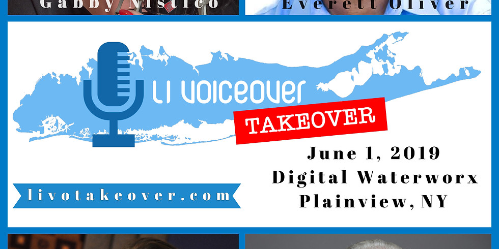 Long Island Voiceover Takeover