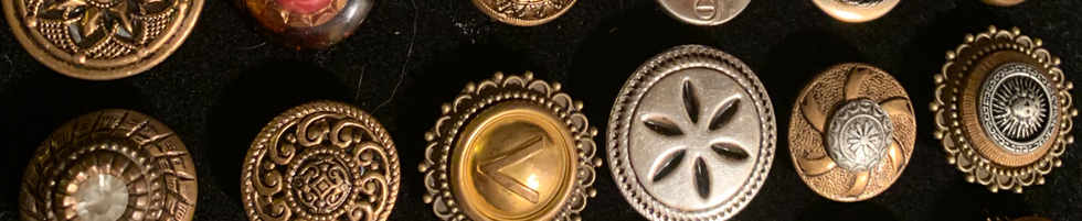Handcrafted Button Rings