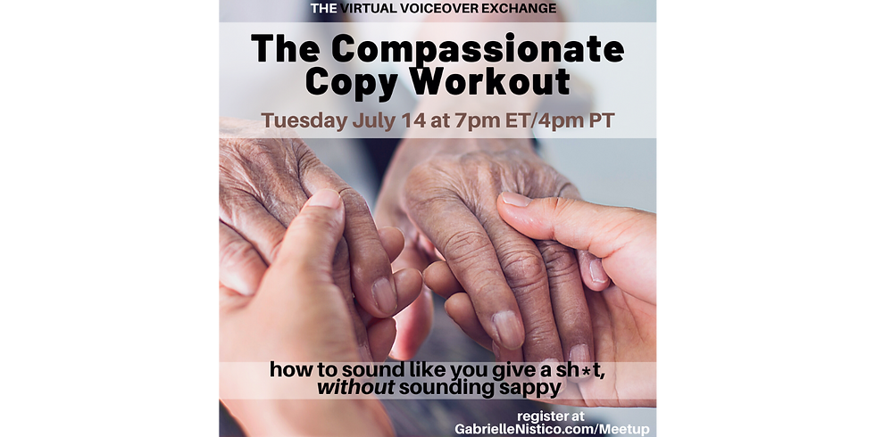 Compassionate Copy Workout with Gabby