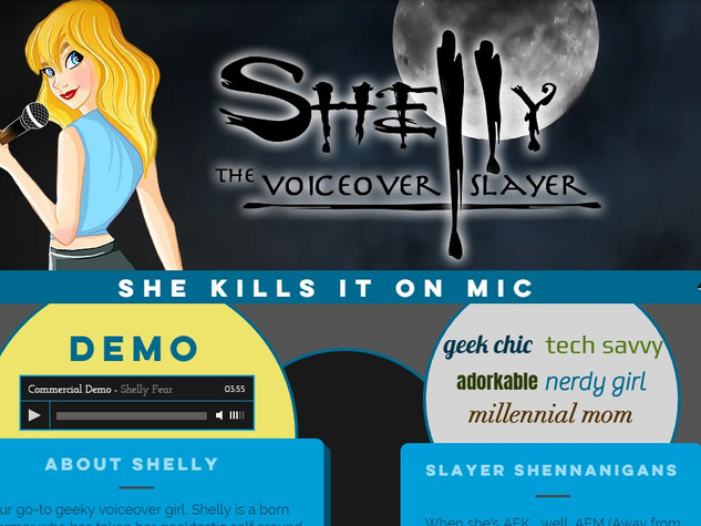 Voiceover Slayer | Shelly Fear