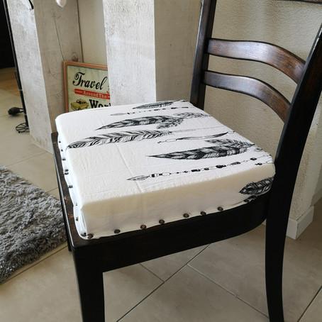 Chaise devenue Fauteuil