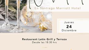 Cena de Navidad y Año Nuevo en Santiago Marriott Hotel