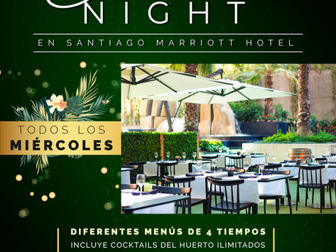 Miércoles de verano en Santiago Marriott Hotel