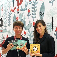 Paloma Valdivia y Mónica Bombal