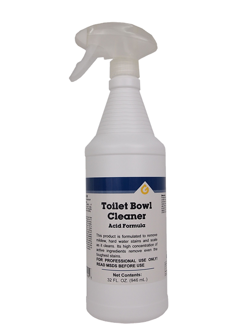 Toilet Bowl Cleaner (Acid Formula)