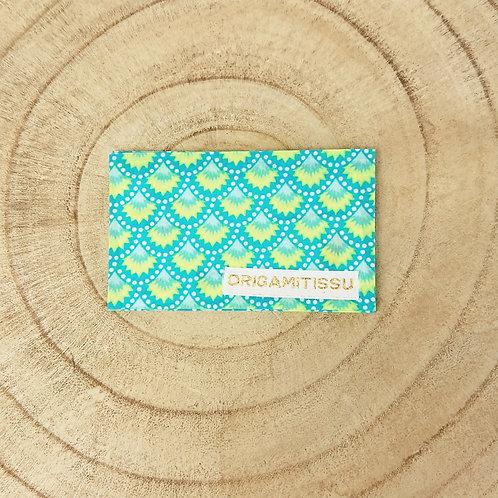 Porte-cartes traditionnel petit pan