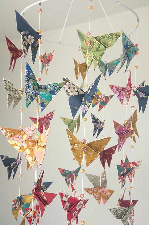 Mobile papillons magiques