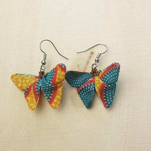 Boucle d'oreille papillon