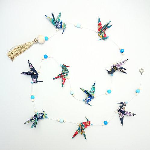 Guirlande diffuseur de parfum - colibris