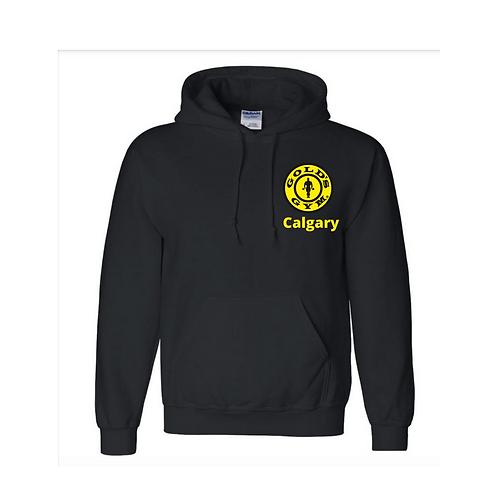 """Black """"Calgary"""" Hoodie"""