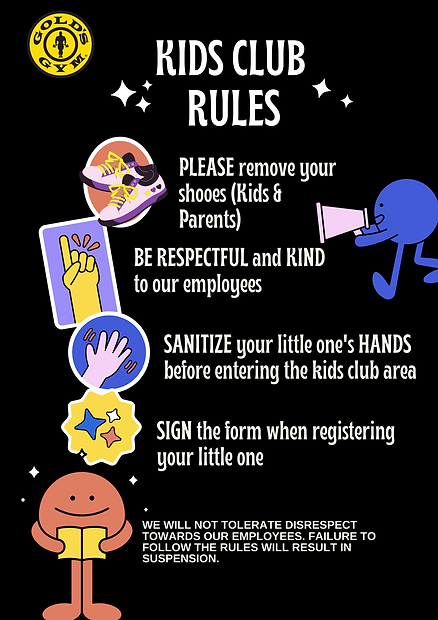 Black Colorful Stickers Straightforward Classroom Rules Education Portrait Poster.png