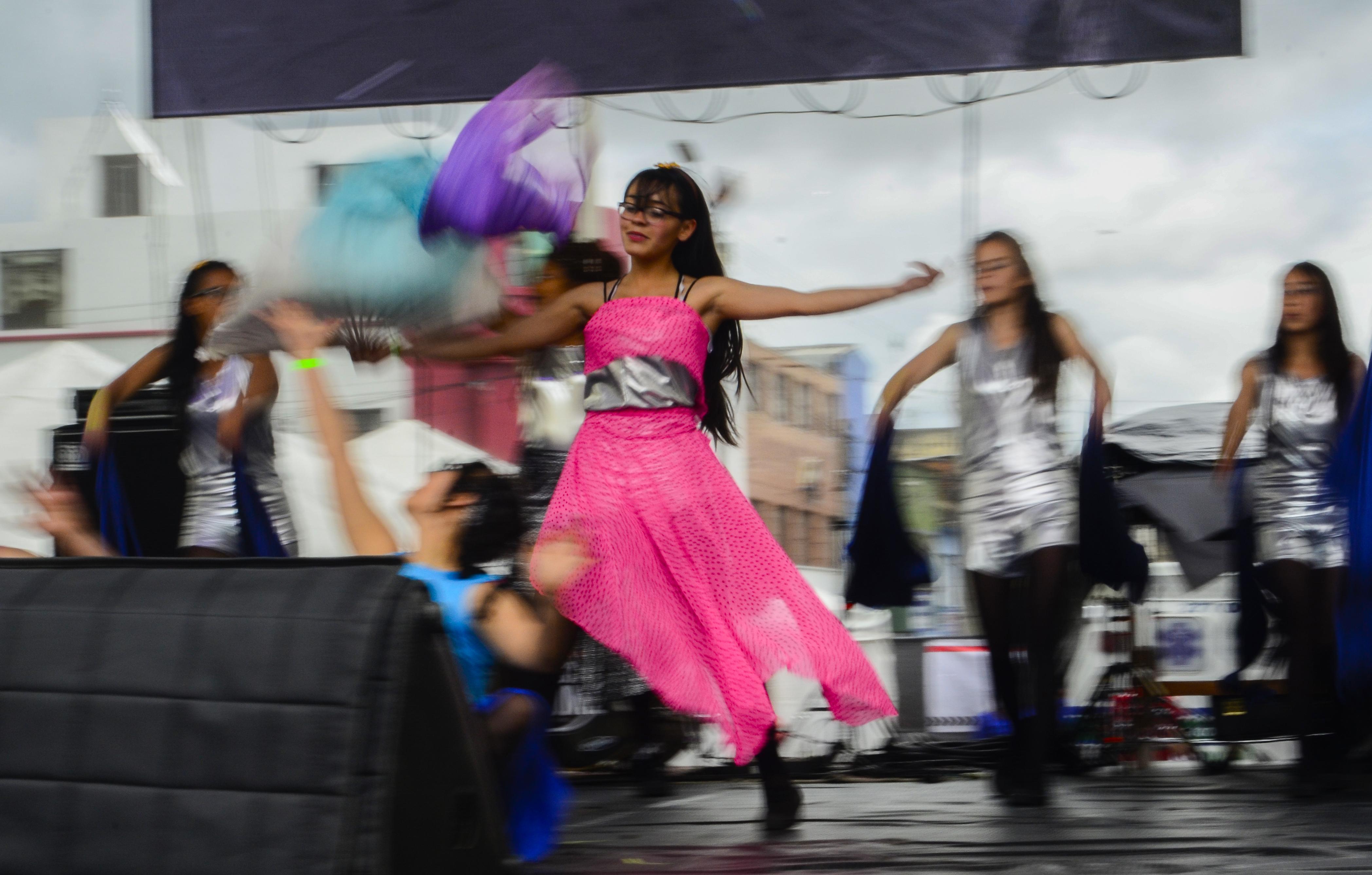 Bailarina SIRENAS, Festival Bronx