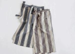 スカート型リネンエプロン