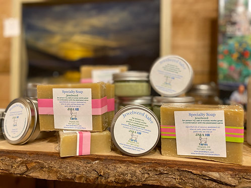 Jewelweed Soap & Salve