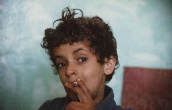 Tanguy Piole - Photo - Bébé à la cigarette