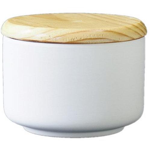 Dose mit Holzdeckel medium