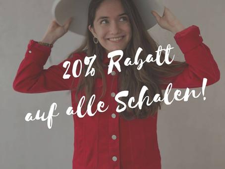 20 % Rabatt - Auf Alle Schalen