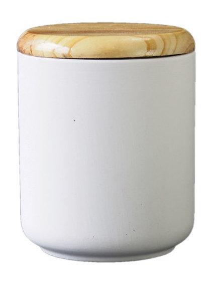 Dose mit Holzdeckel klein