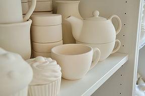 Verschiedene Keramikrohlinge