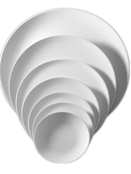 Teller glatt 35 cm
