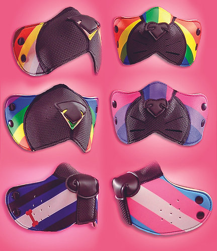 PRIDE MUZZLES FOR K9, K-TY AND K-BR