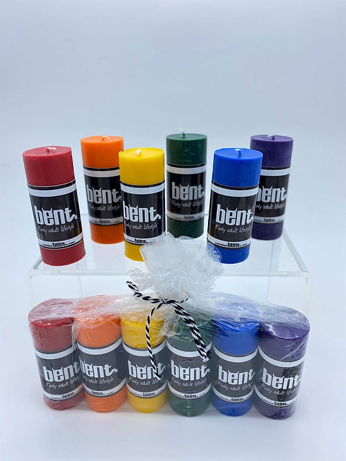 RAINBOW CANDLE PACK
