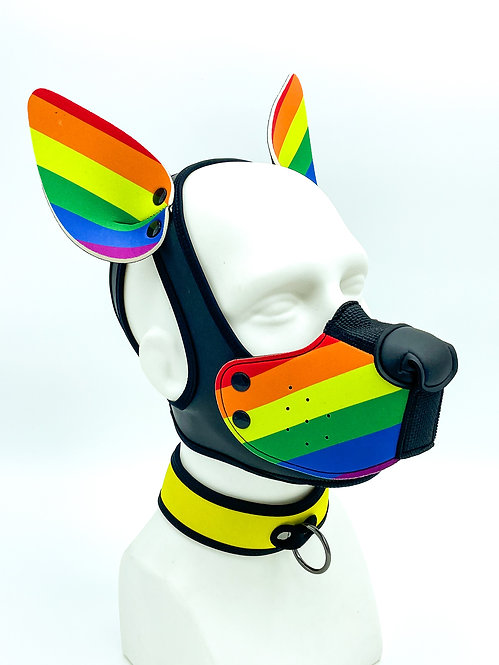K9 PRIDE MASK WITH EARS