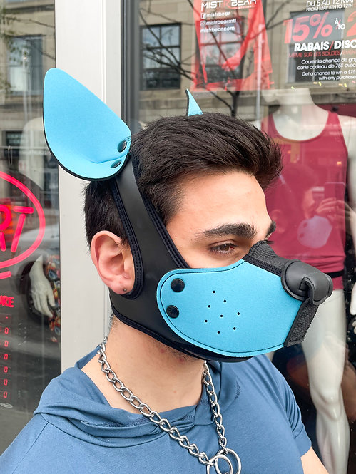 K9 MASK WITH EARS